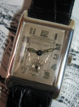 MURALT Swiss solid silver mens Wrist watch
