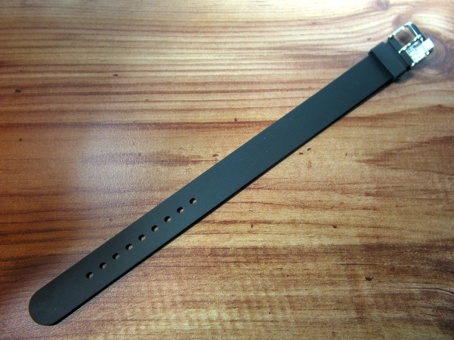 NATO natural Rubber Strap avail. in 18 and 20 mm