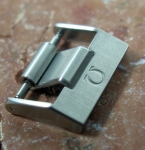 Omega ss tang buckle 20 mm No19