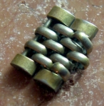 Omega vint. ss Beats of Rice Bracelet links No 368