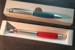 Pen solid Metal & Rubber No 807