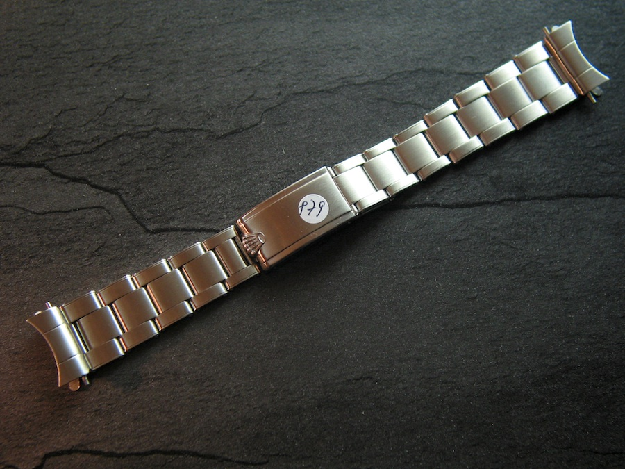 Rolex Original Submariner Vintage Bracelet Ref 7206 No 879
