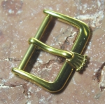 ROLEX vintage 16 mm buckle y gold plated  No1