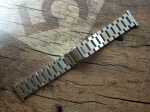 ROWI 22/18 mm solid Steel Bracelet made in Germany  3404
