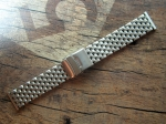 ROWI 22/20 mm solid Steel Bracelet made in Germany  3384