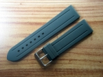 Rubber Strap 22/20  mm with ss tang buckle No54
