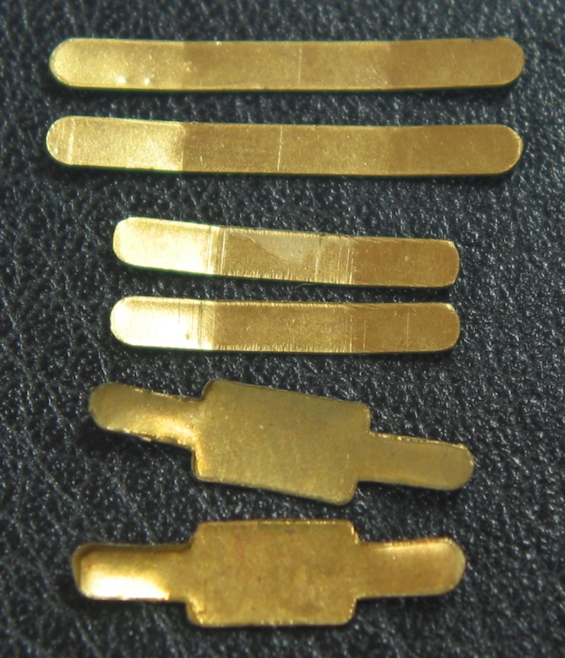 Strap Clips made from brass No 344.1