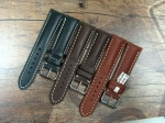 Swiss Chrono Calf Leather Straps avail. in 18,20,22 and 24
