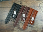 Swiss Chrono  Printed Alligator Calf Leather Straps 18,20,22,24
