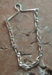 Tie Chain solid Sterling Silver No 684