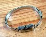 Vintage 10/8mm STOWA V2A ss Mesh Bracelet from the 30s No62