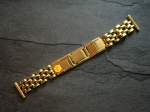 Vintage 20/15 mm y gold plated Bracelet from the 50s No244
