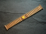 Vintage 20/16 mm rose gold plated Bracelet from the 50s No246
