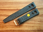 Vintage Rubber Strap 18 mm from the 60s No131