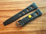 Vintage Rubber Strap 20 mm from the 60s No132