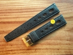 Vintage Rubber Strap 20 mm from the 60s No133