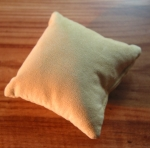 Watch Pillow generic beige velvet No 209