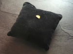 Watch Pillow generic black velvet No 210