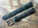 ZENITH Louisiana Alligator Strap Ref. 471  black 18/16 mm