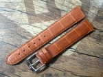ZENITH Louisiana Alligator Strap Ref. 466  brown 18/16 mm